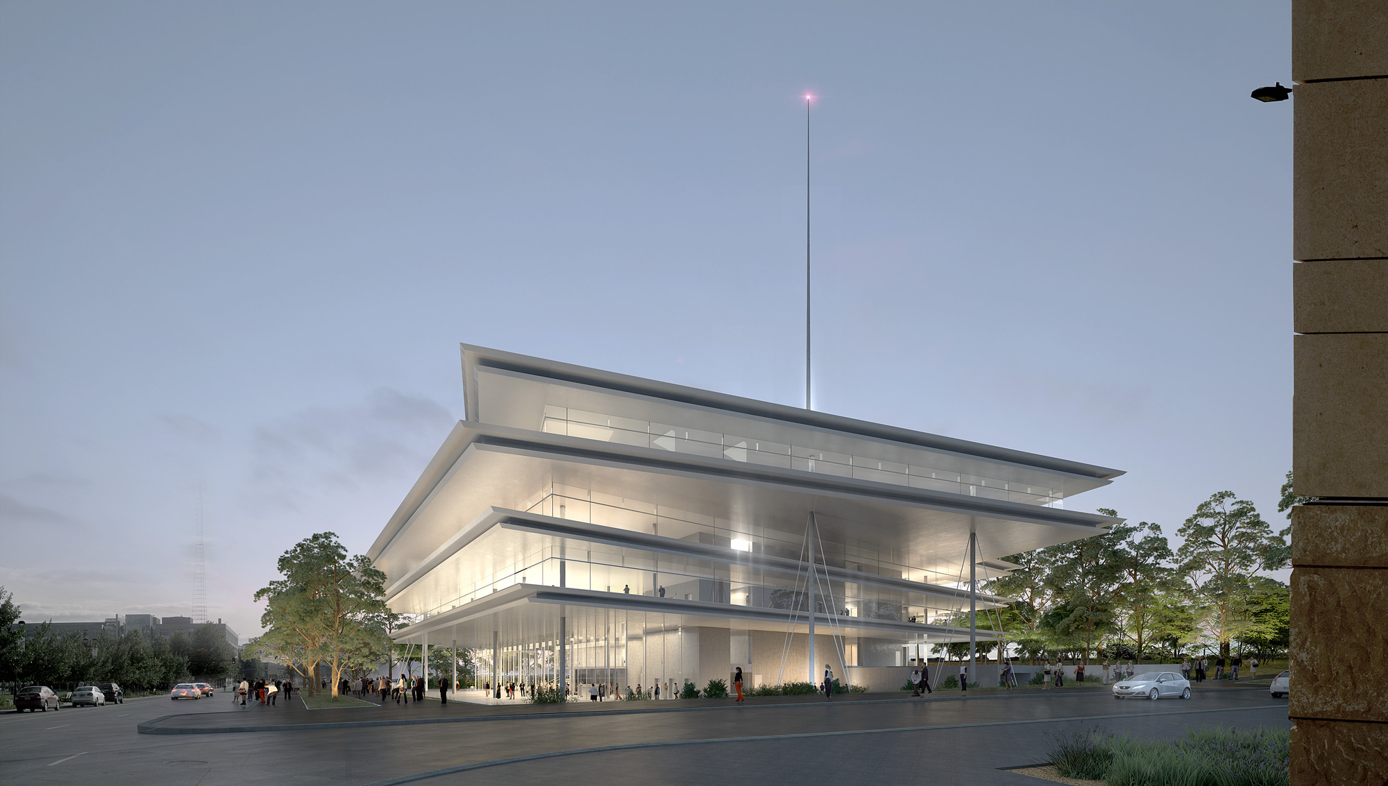 Renzo Piano Completes Krause Gateway Center In Des: Gallery Of Renzo Piano To Break Ground On Des Moines' Kum