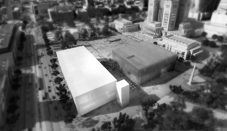 Thomas Phifer and Partners Unveil Design for Warsaw Art Museum and Theatre, © By-Encore