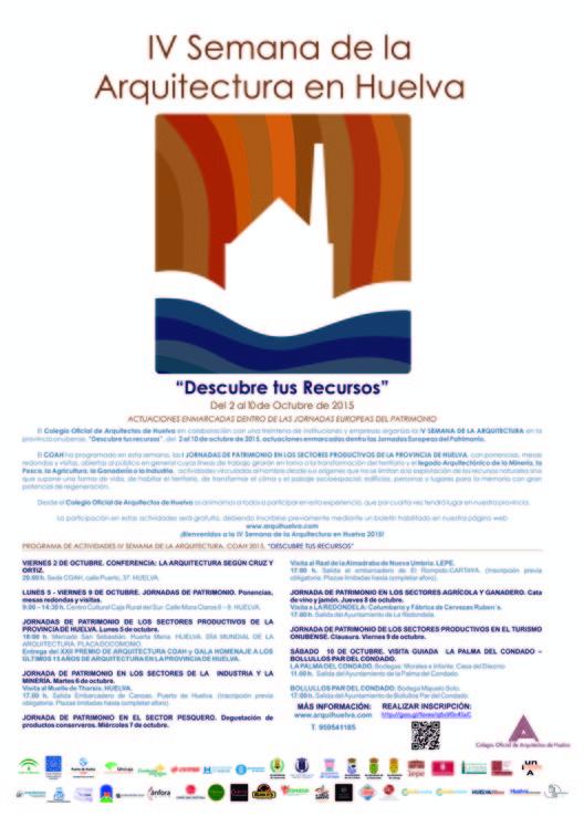 IV Semana de la Arquitectura en Huelva