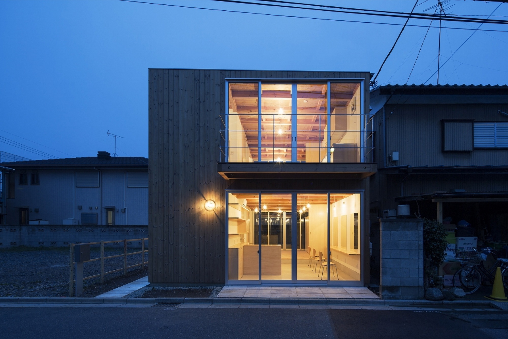 Gallery Of Wooden Box House Suzuki Architects 6
