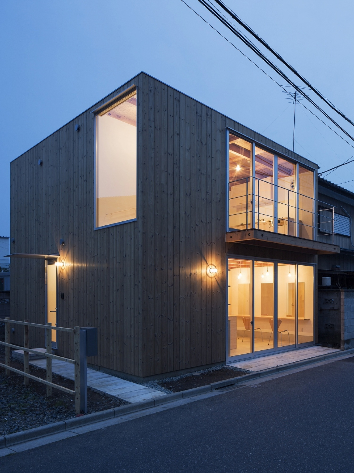 Gallery Of Wooden Box House Suzuki Architects 8
