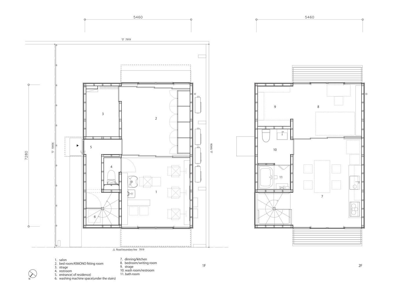 gallery of wooden box house suzuki architects 14 wooden box house floor plan
