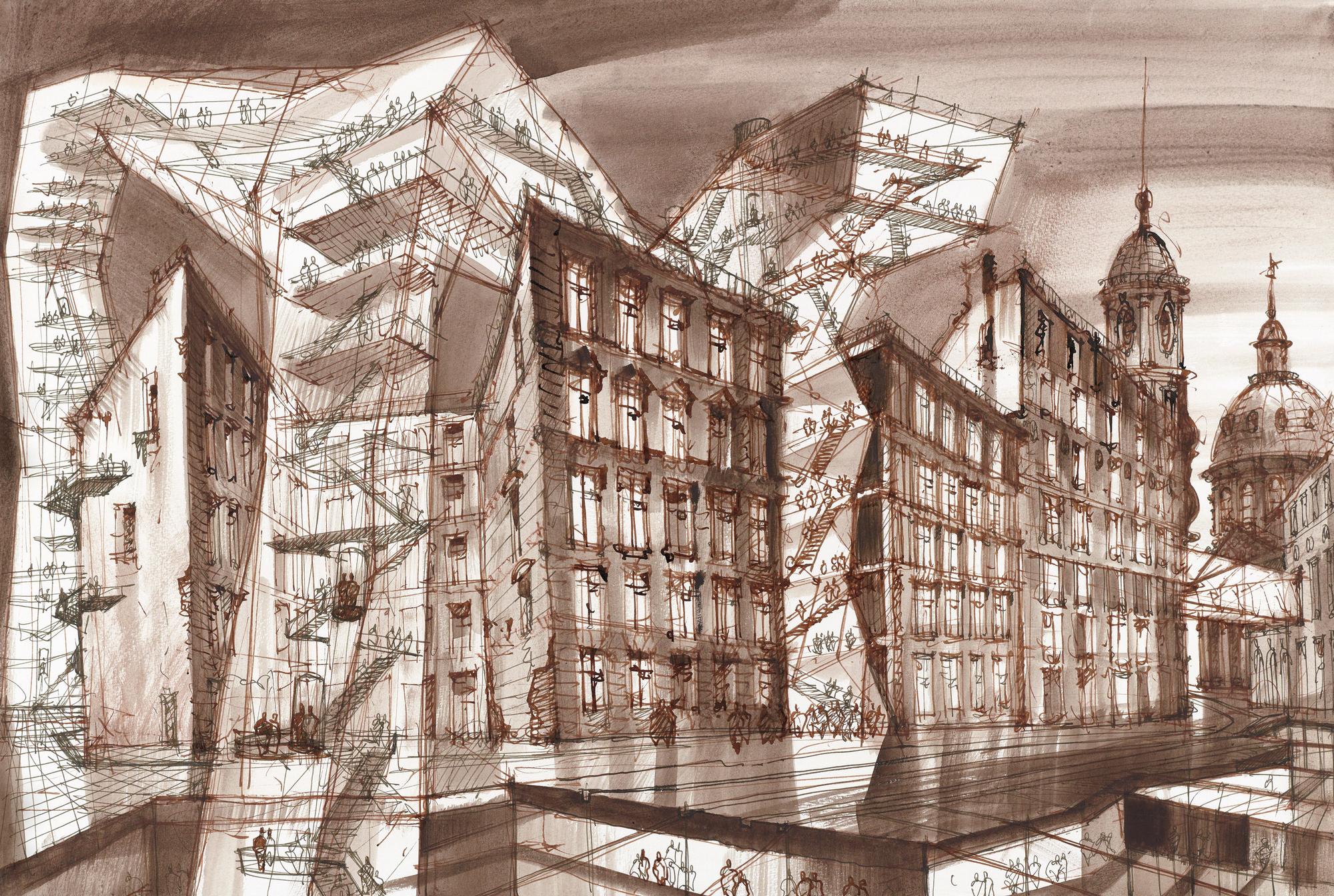 D Virtual Exhibition Software : Exhibition glazing the future sergei tchoban s