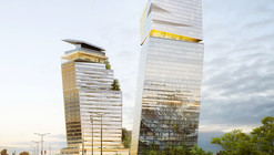 """Jean Nouvel Wins Approval for Leaning """"Tours Duo"""" Project in Paris"""