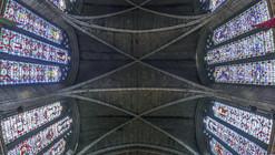 Richard Silver's Stunning Vertical Panoramas of New York Churches