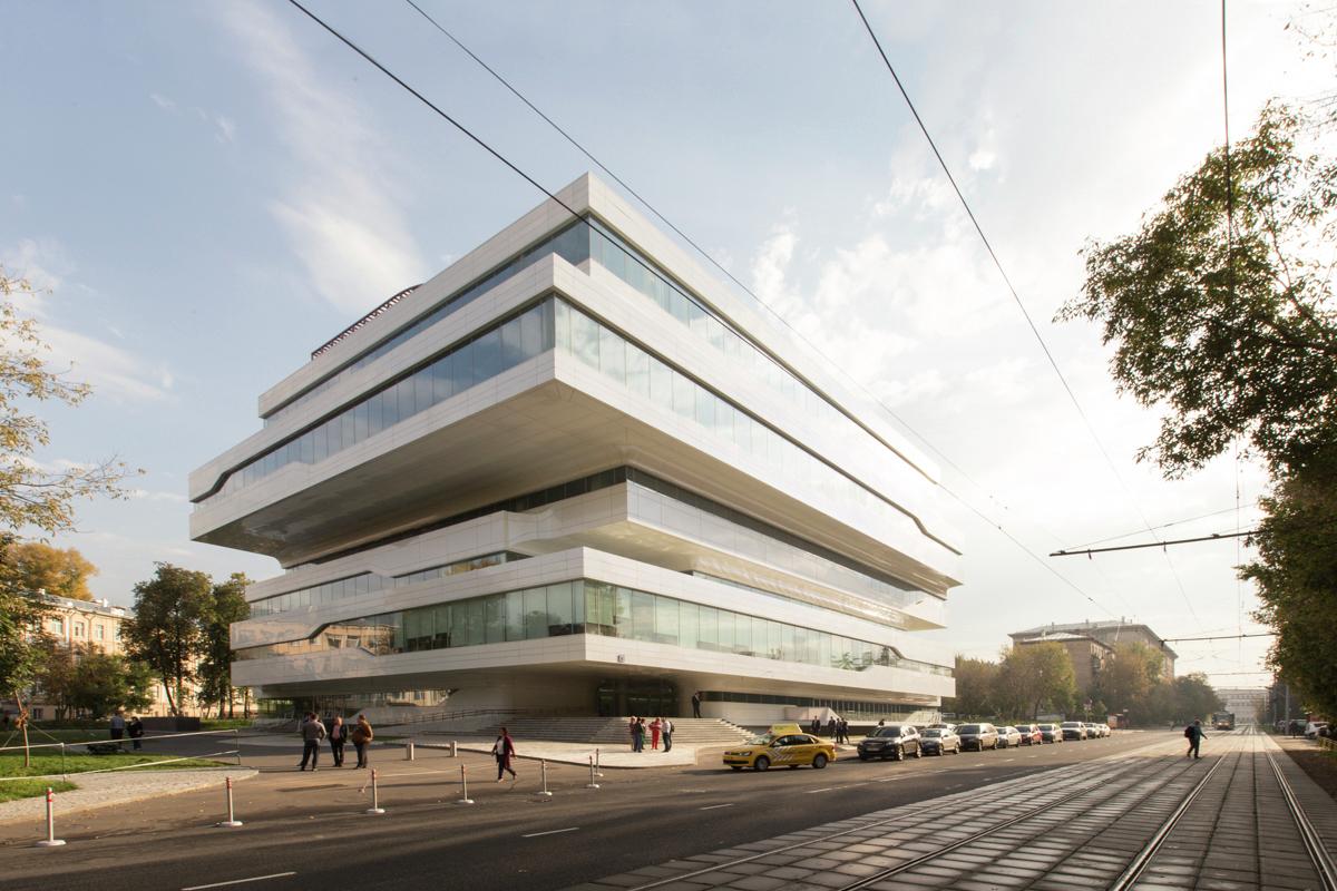Conoce Dominion Tower, la última obra de Zaha Hadid en Moscú