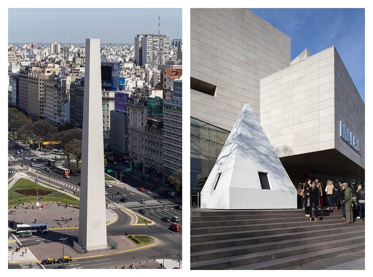 La punta del Obelisco de Buenos Aires se traslada al MALBA / La democracia del símbolo por Leandro Erlich, Cortesía de MALBA (Buenos Aires)