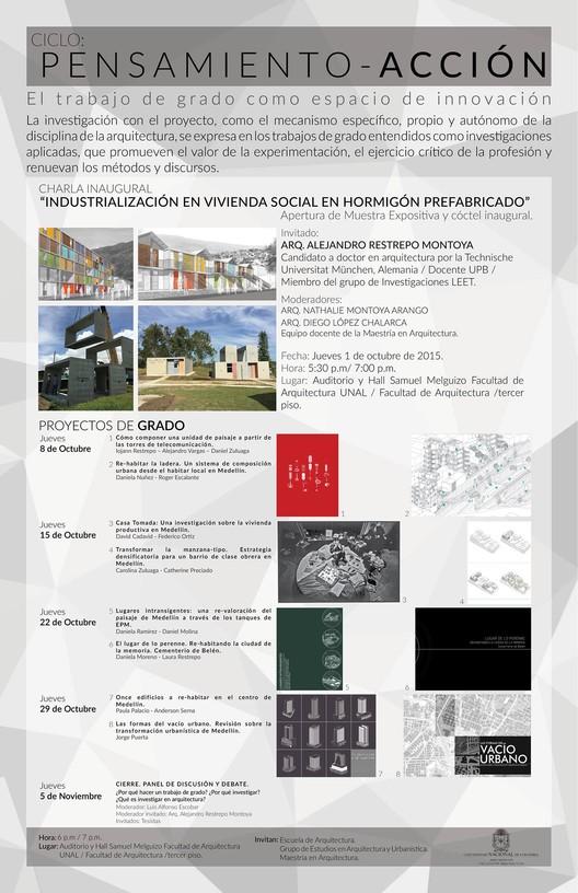 """Charla: """"Industrialización en Vivienda Social en Hormigón Prefabricado"""" Alejandro Restrepo /  Medellín, vía ciclo: pensamiento-acción_unal"""