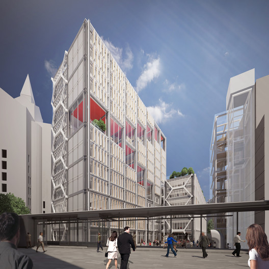 RSHP's winning scheme to redevelop part of the LSE campus. Image © RSHP
