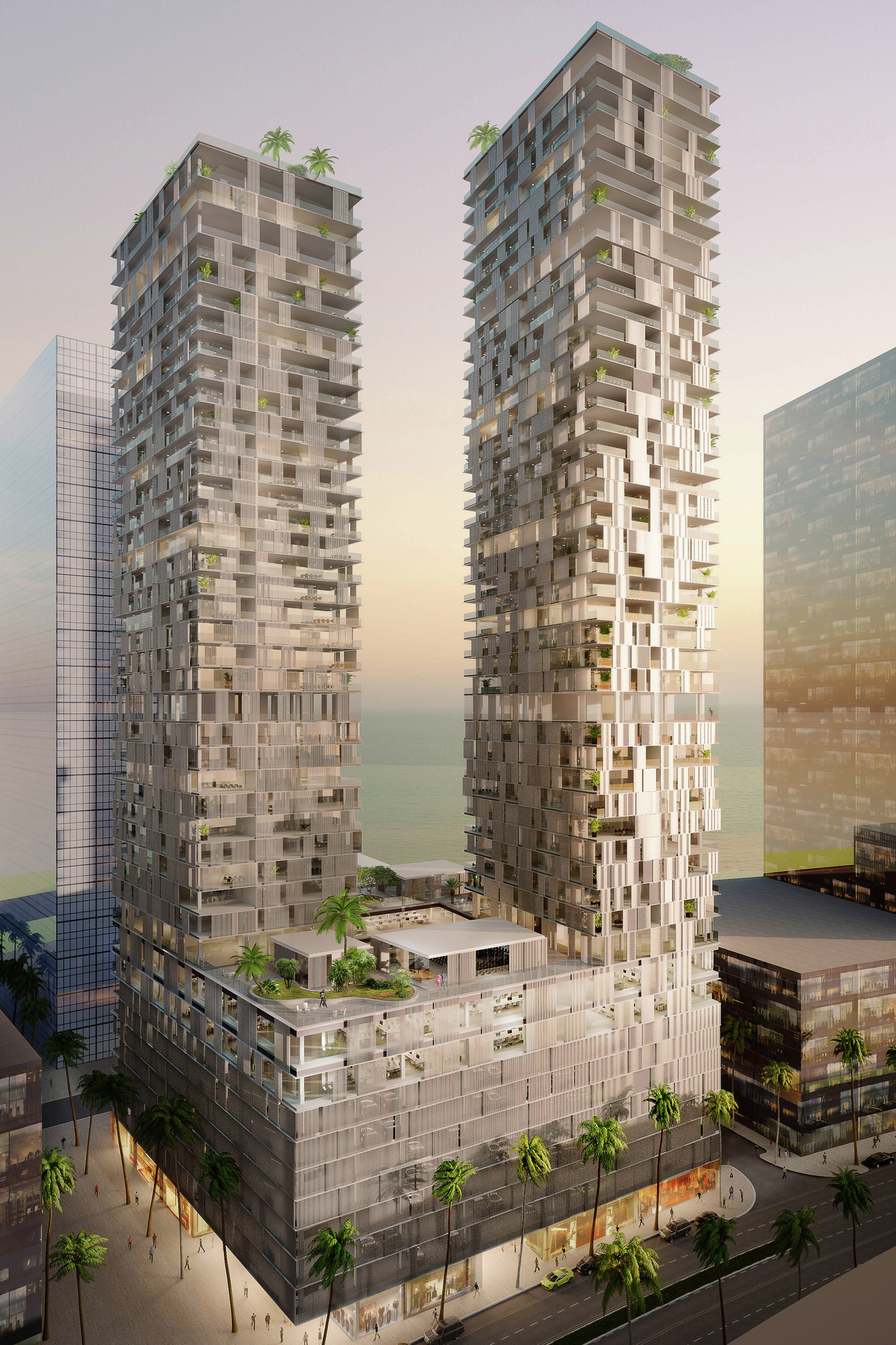 Gallery Of Waa Unveil Bahrain Bay Tower In Manama 2