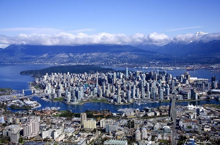 10 conselhos para elaborar um plano urbano, Vancouver, Canadá. Imagem © Tim Shields BC, via Flickr