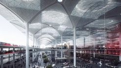 "Perkins+Will to Design ""Airport City"" in Istanbul"
