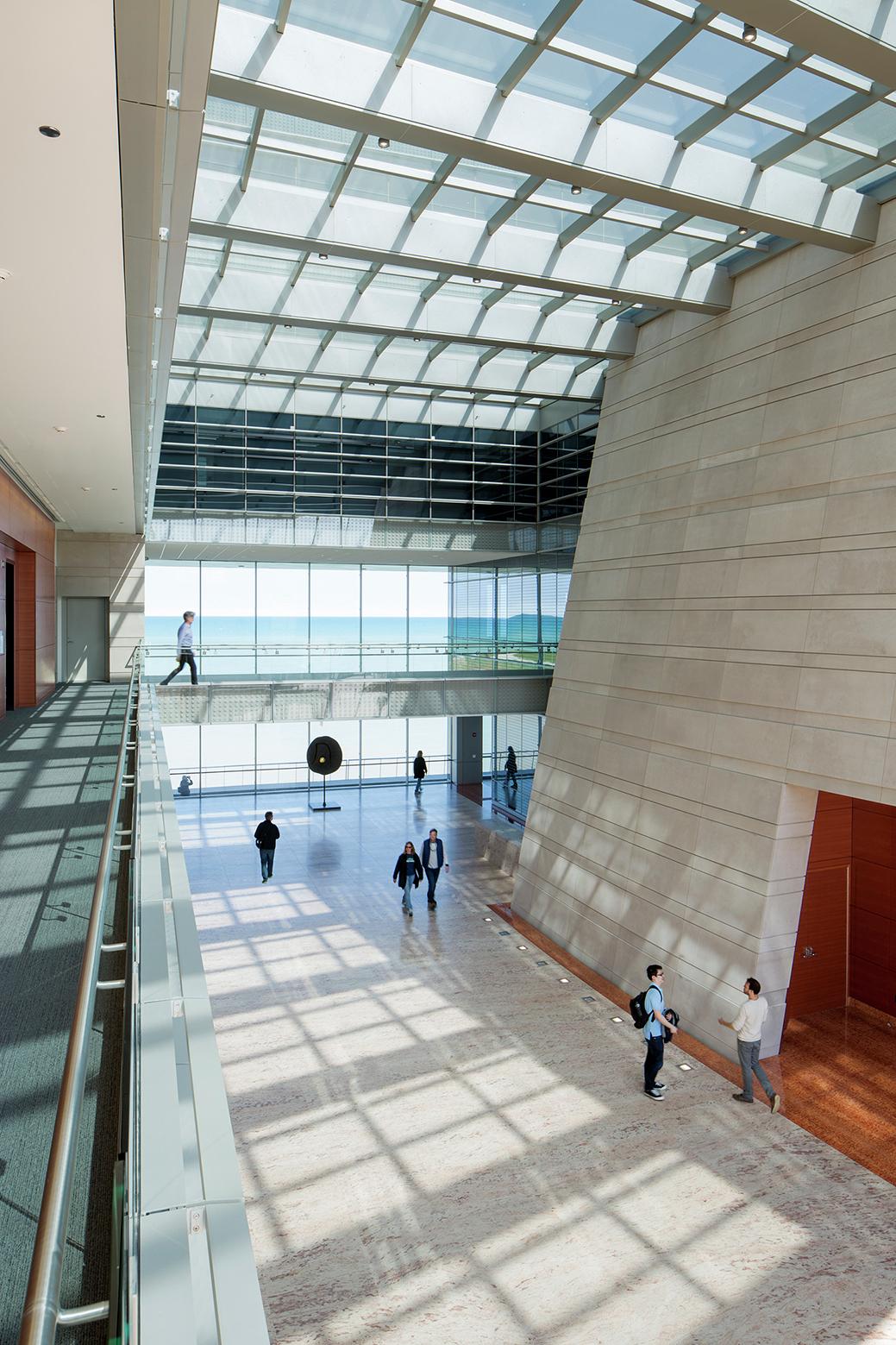 Northwestern university ryan center goettsch partners archdaily tom rossiter sciox Images