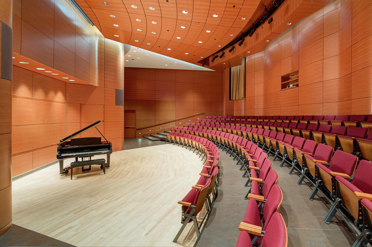 Gallery of Northwestern University Ryan Center / Goettsch ...