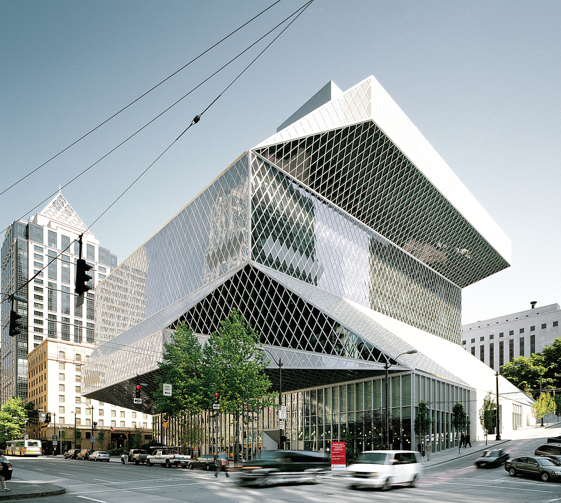 av monographs looks at 15 years of rem koolhaas and omacentral library 1999 - Arquitecturaviva