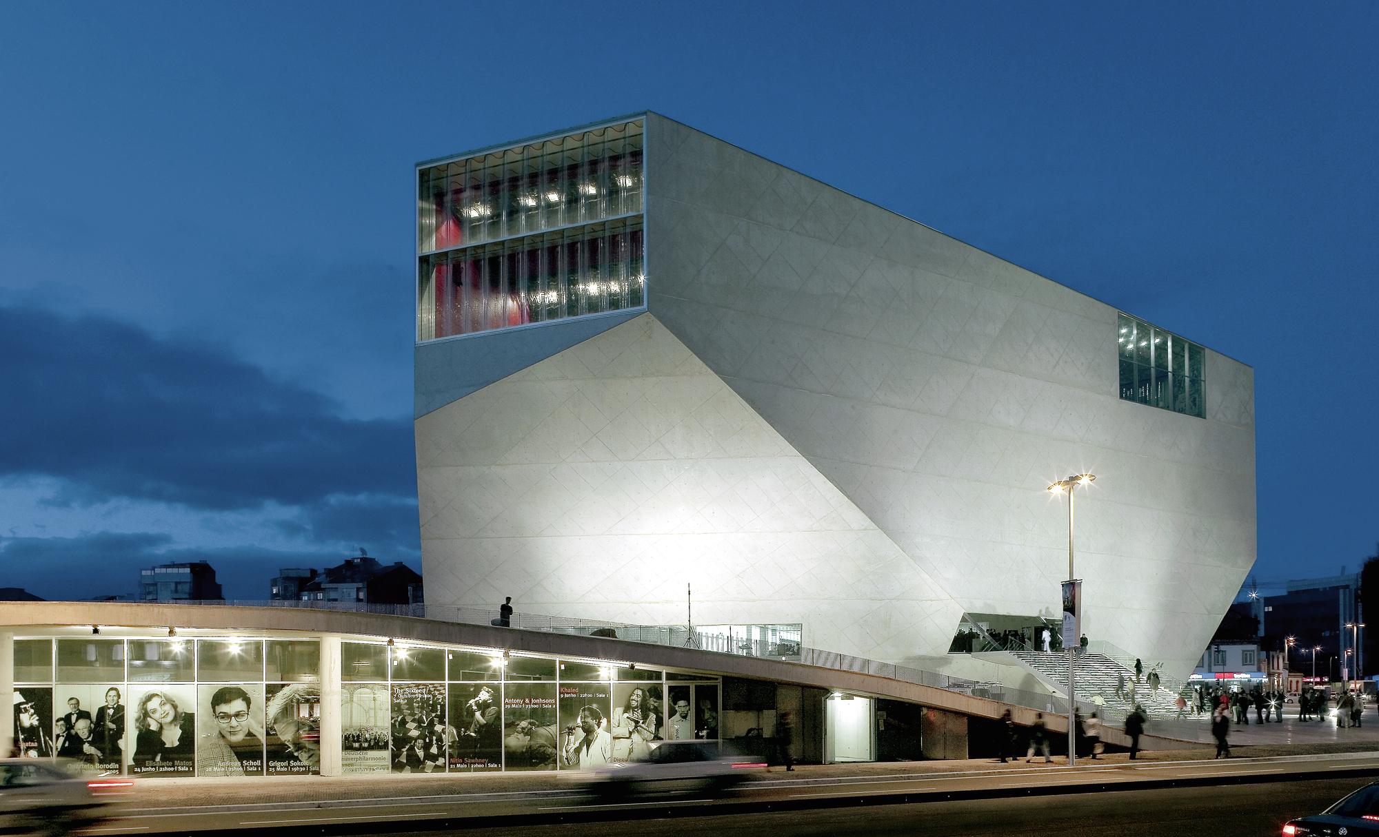 Gallery of av monographs looks at 15 years of rem koolhaas for Cassa musica
