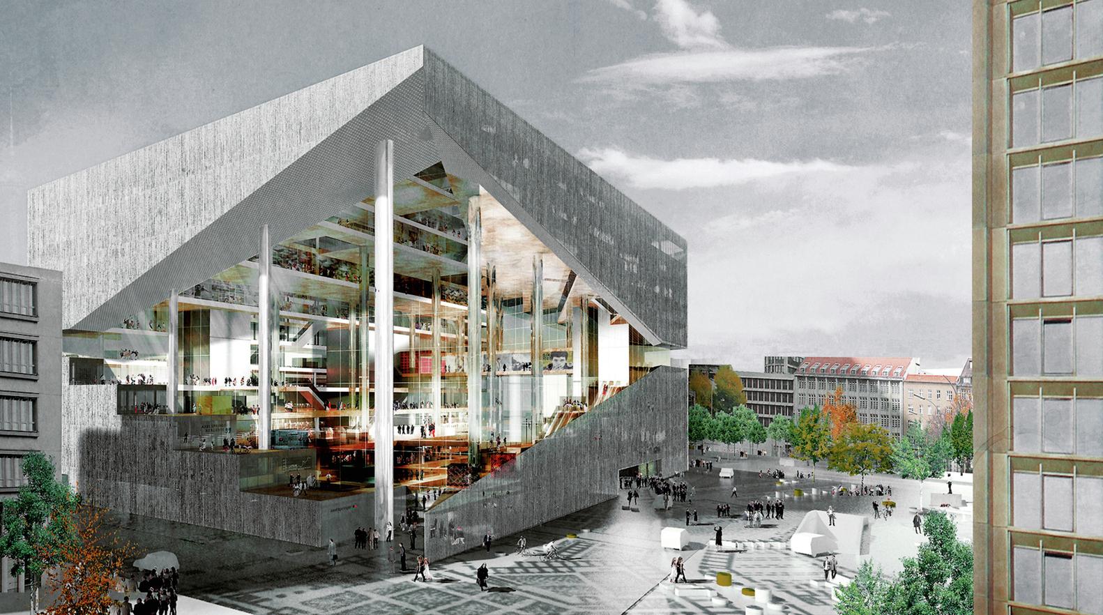 av monographs looks at 15 years of rem koolhaas and omaaxel springer campus - Arquitecturaviva