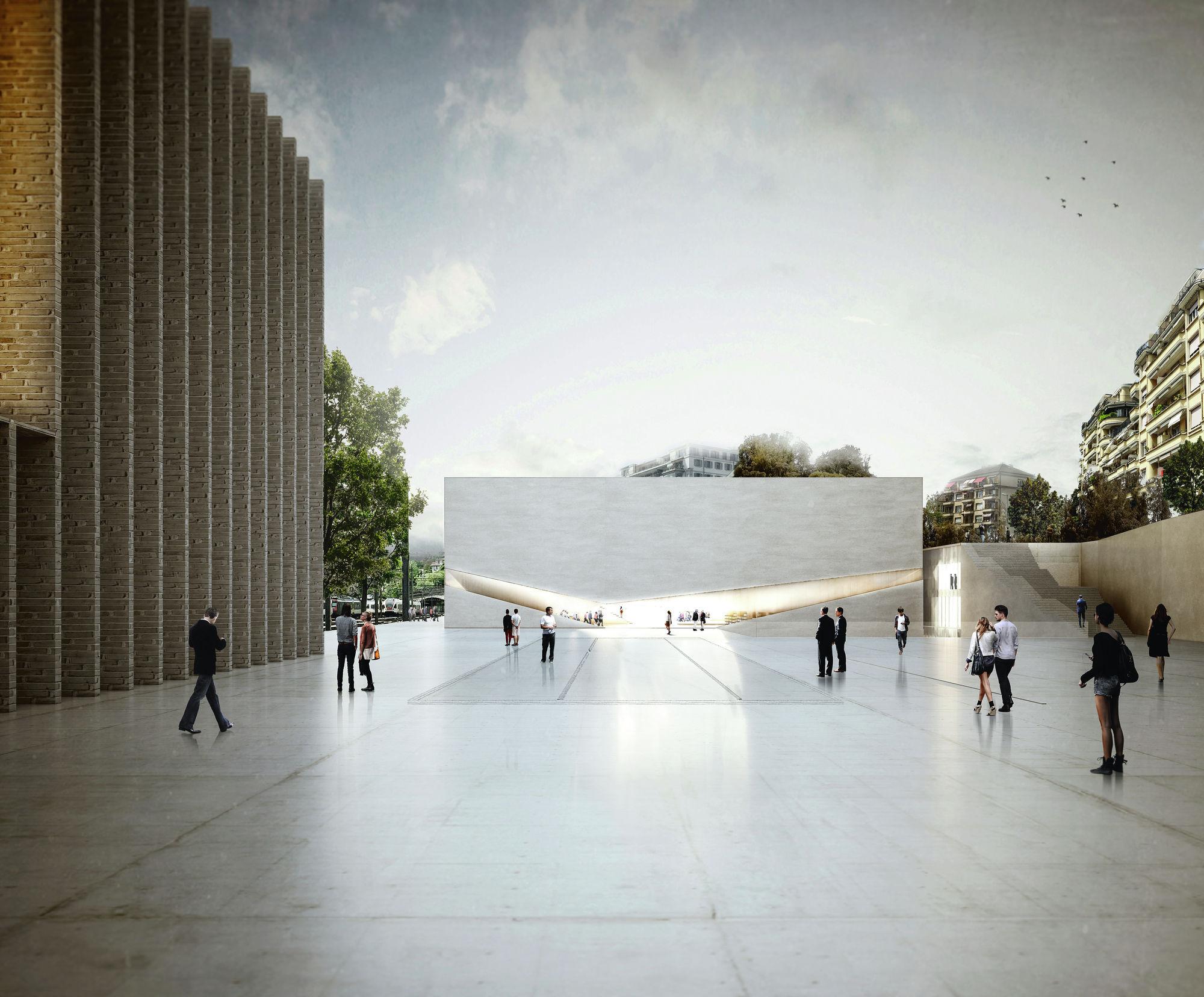 Aires Mateus Wins Competition to Design New Pôle Muséal of Lausanne
