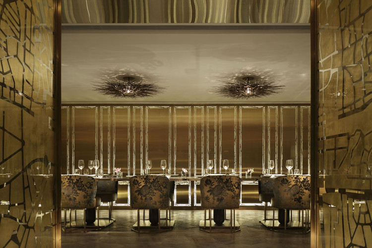 Dalloyau Hong Kong Inverse Lighting Design Image Courtesy Of The Restaurant Bar