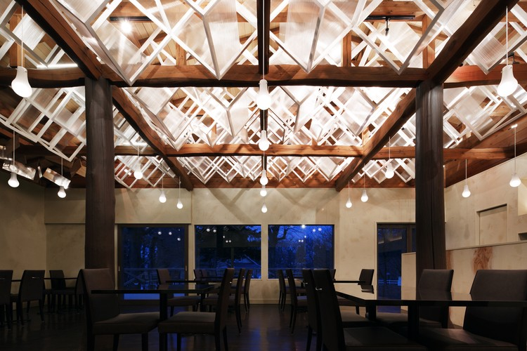 Dream Dairly Farm Restaurant; Japan / Moriyuki Ochiai Architects . Image  Courtesy Of The Restaurant