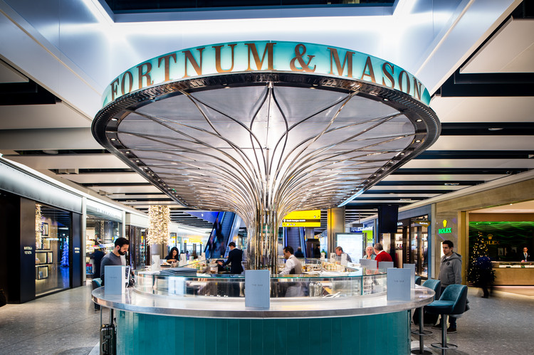 The Bar At Fortnum Mason United Kingdom Universal Design Studio Image Courtesy
