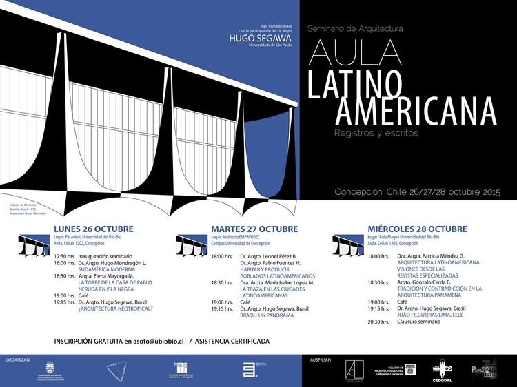 Seminario de Arquitectura Aula Latinoamericana - Registros y escritos / Concepción