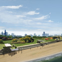 """NLÉ ARCHITECTS """"ROCK AND THE BEAN"""" INVITES THE PUBLIC TO LEAVE A MARK ON THEIR LAKEFRONT KIOSK"""