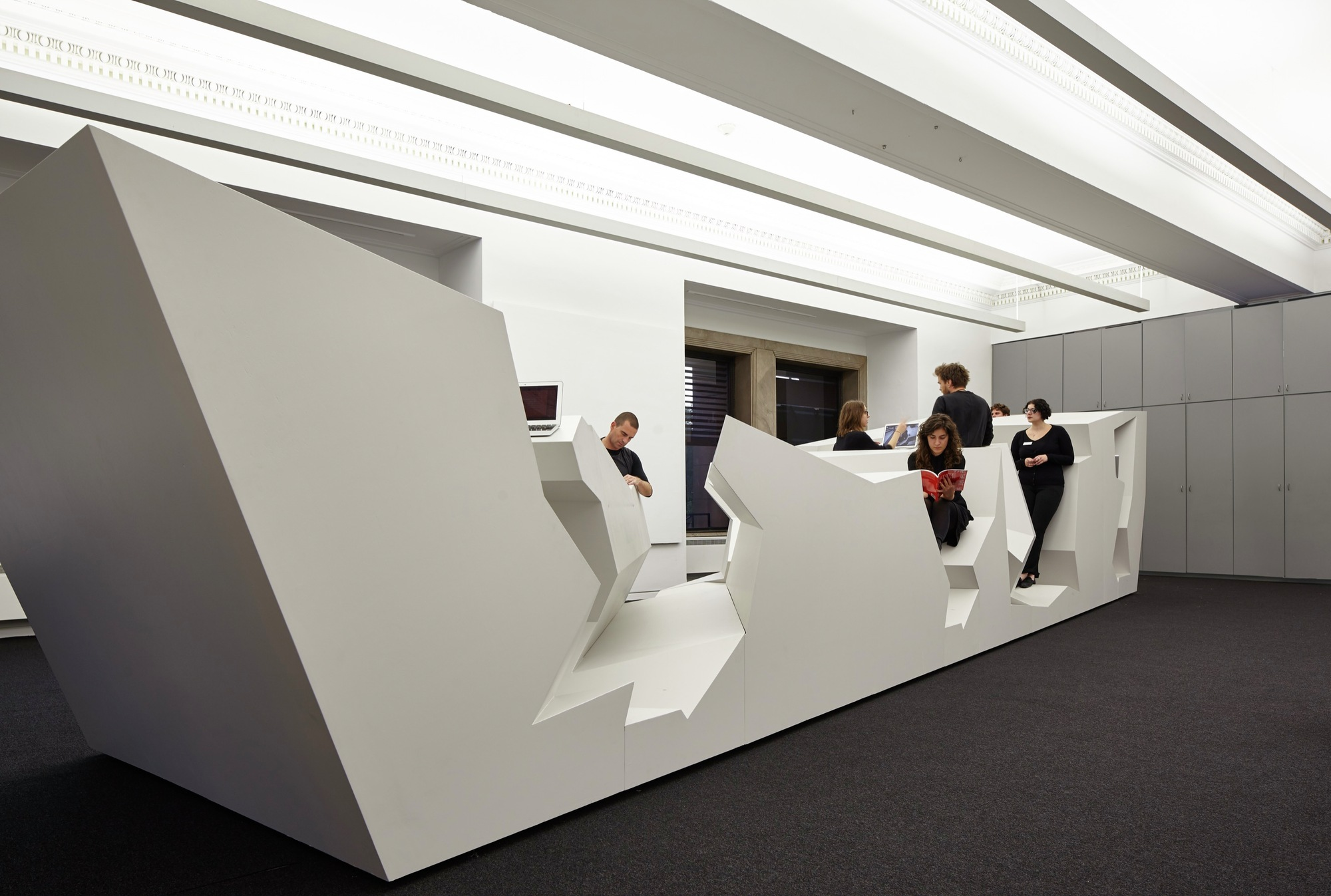 Gallery of 15 must see installations at the chicago for Office design events