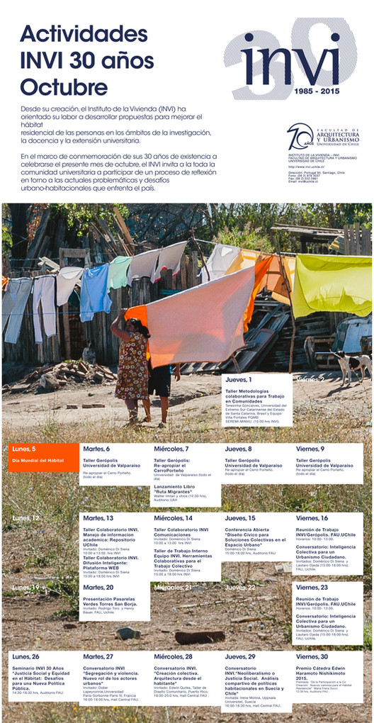 Conversatorio 'Inteligencia colectiva para un urbanismo ciudadano' con Doménico Di Siena y Lautaro Ojeda / Santiago