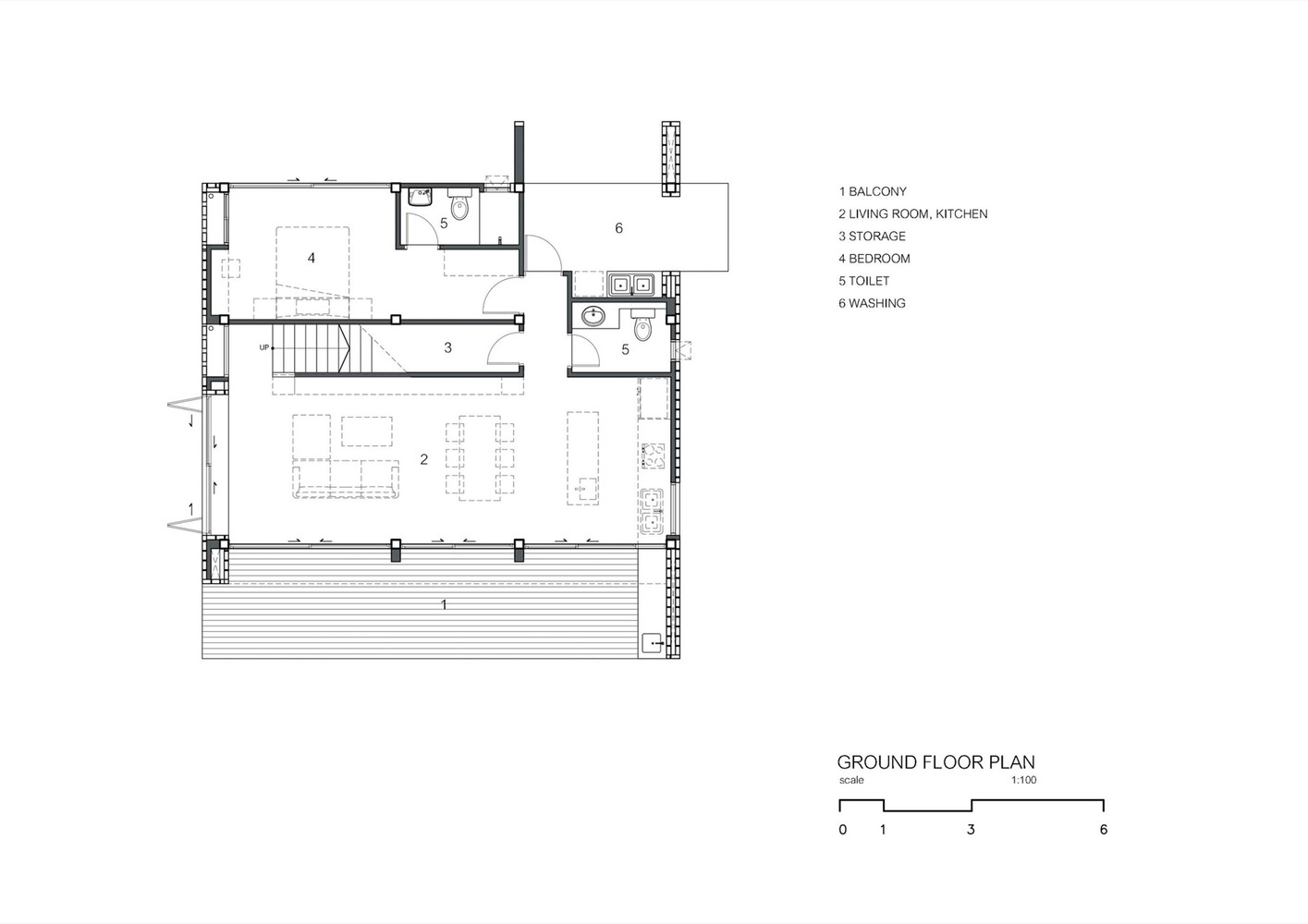 Gallery of CK House Full Scale Studio 17 – House Floor Plans To Scale