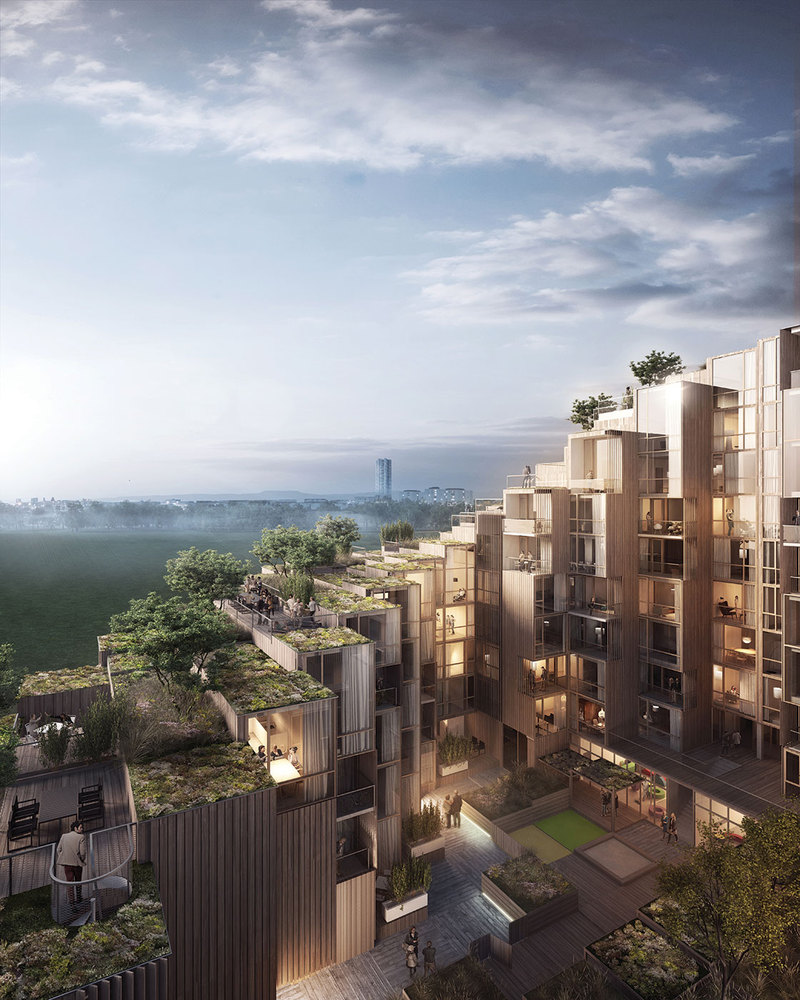 Gallery of BIG Designs New Apartment Building in Stockholm - 1