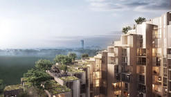 BIG Designs New Apartment Building in Stockholm