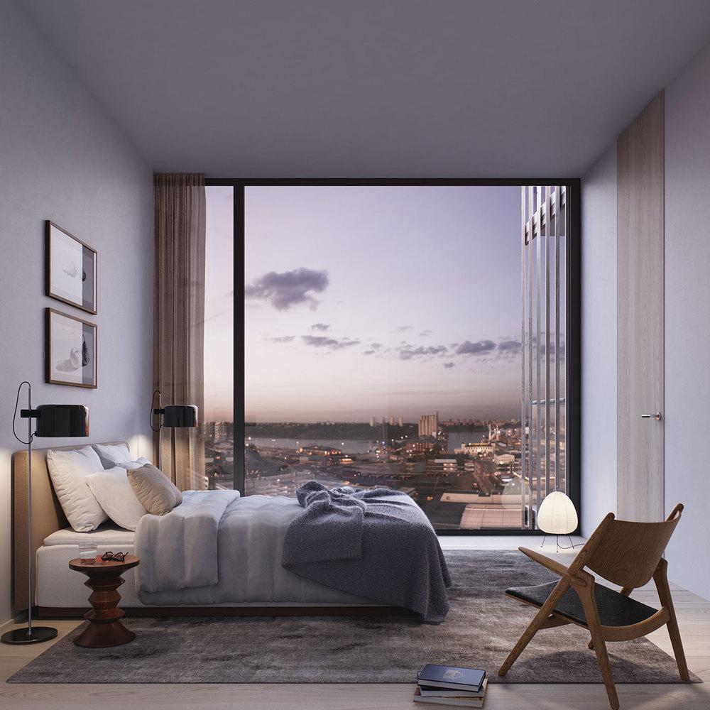 BIG Designs New Apartment Building In StockholmC Oscar Properties