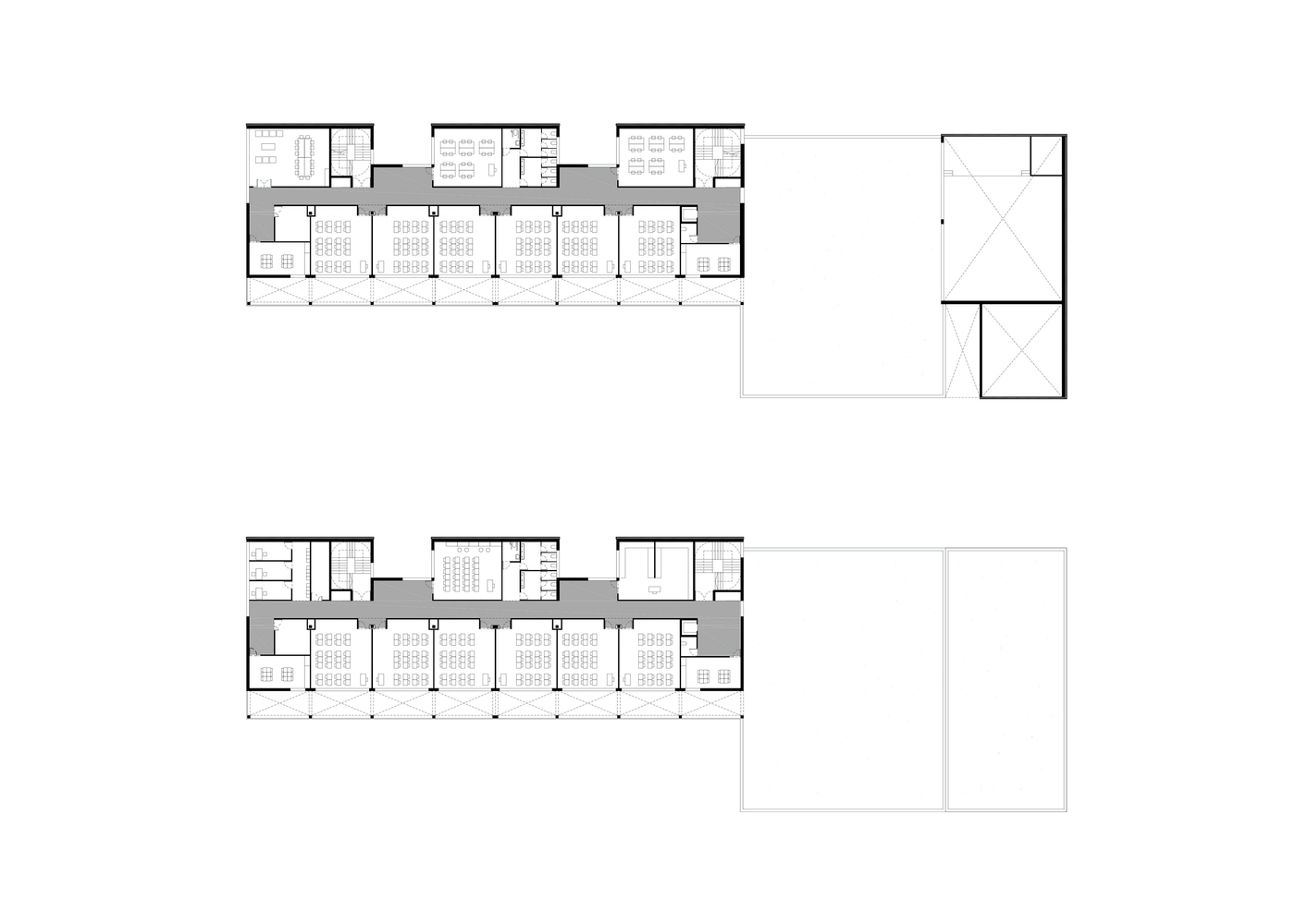 Primary School Puig De Les Cadiretes Valor Llimos Upper Floor Plan
