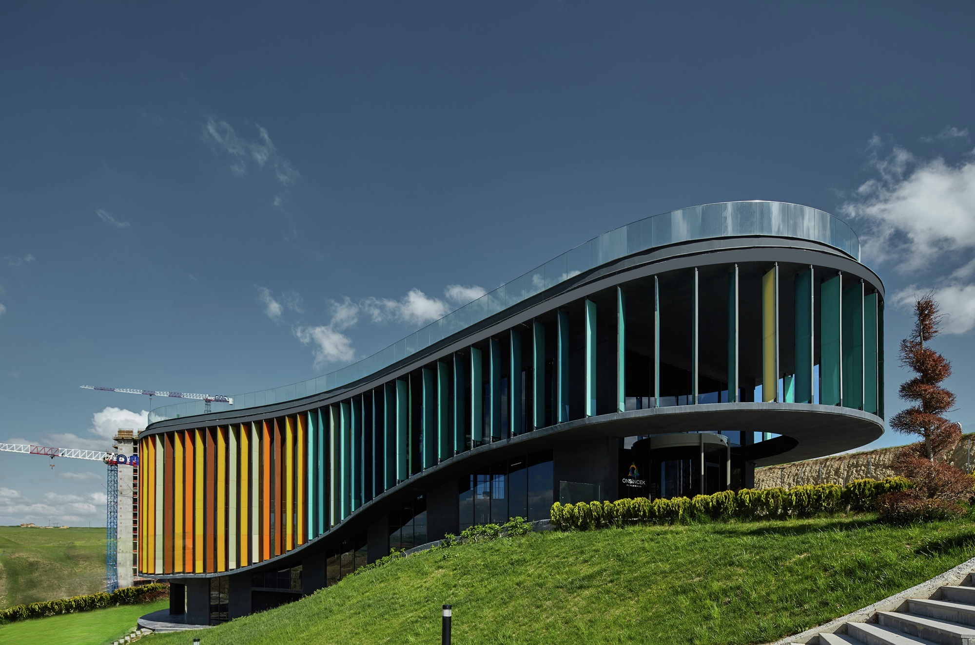 Gallery Of ONS İncek Residence Showroom And Sales Office