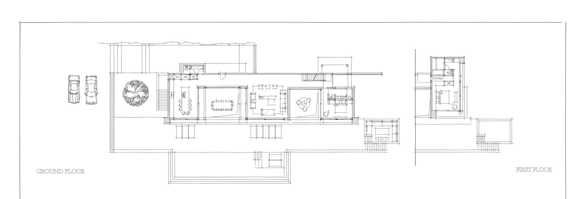 Galer a de la casa de plata dwek architectes 23 for Casa de cocina la plata