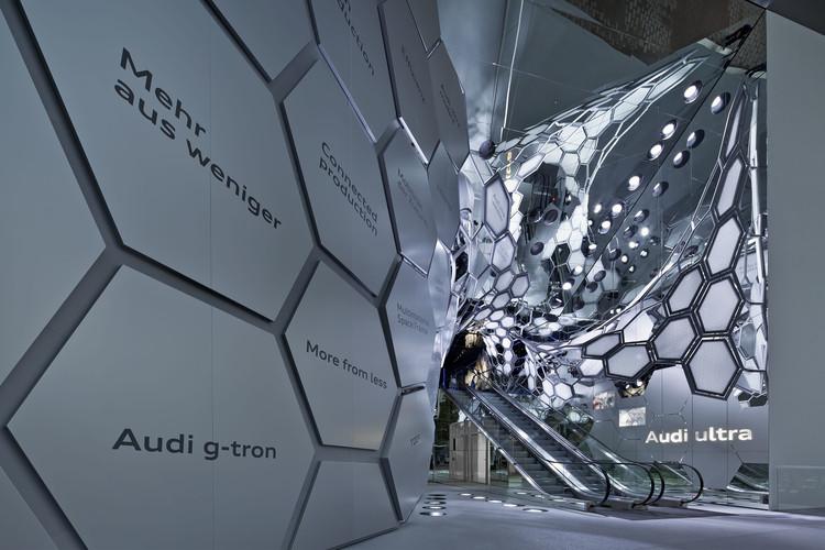 Audi Motor Show 2015 / SCHMIDHUBER, © Andreas Keller