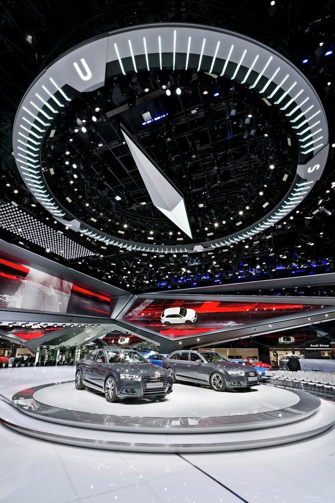 Gallery Of Audi Motor Show SCHMIDHUBER - Keller car show