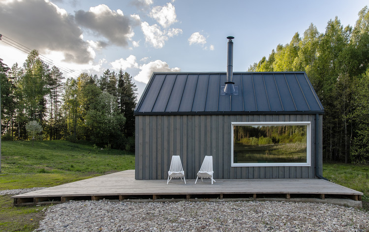 Lithuanian Hunting House  / Devyni architektai, © Augis Narmontas