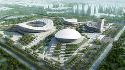 Construction Begins on gmp Architekten's SIP Sports Centre in China
