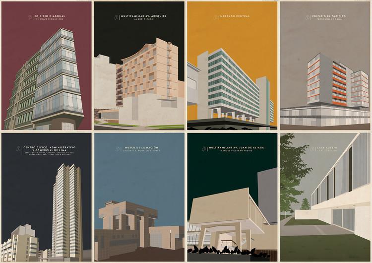 Arte y Arquitectura: Ilustraciones de Arquitectura Moderna Peruana por RAAM Atelier, Cortesía de RAAM Atelier