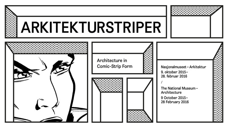 Exhibition: Architecture in Comic-Strip Form, Illustration: Bielke&Yang