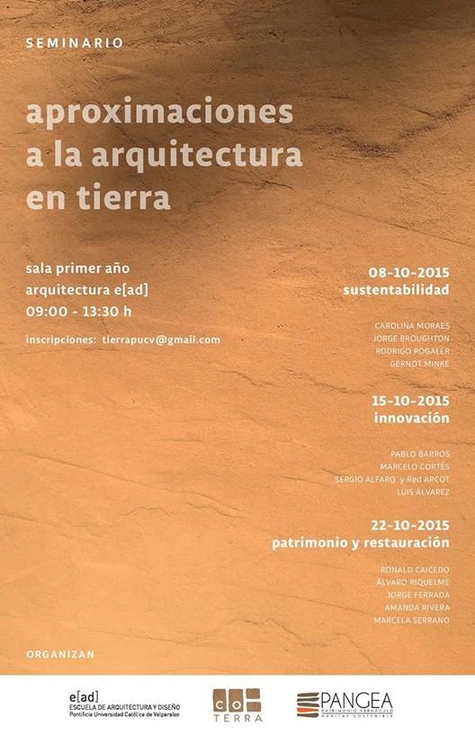 Seminario Aproximaciones a la arquitectura en tierra / Viña del Mar