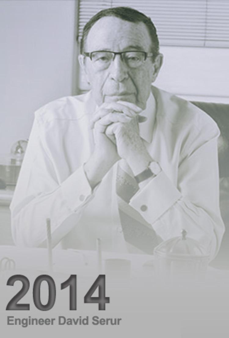 David Serur, Premio a la Vida y Obra 2014
