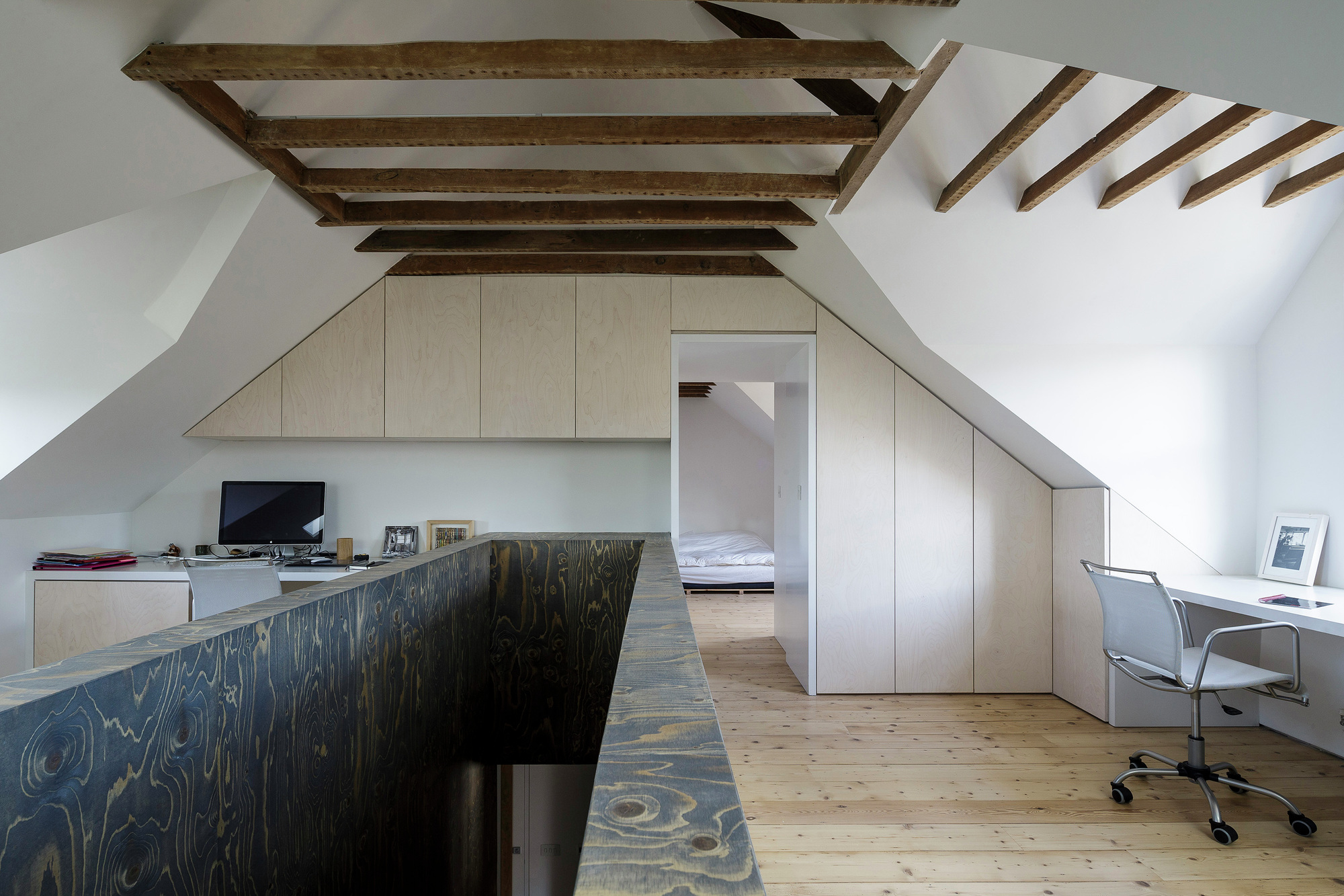 Semi Detached Delvendahl Martin Architects Archdaily