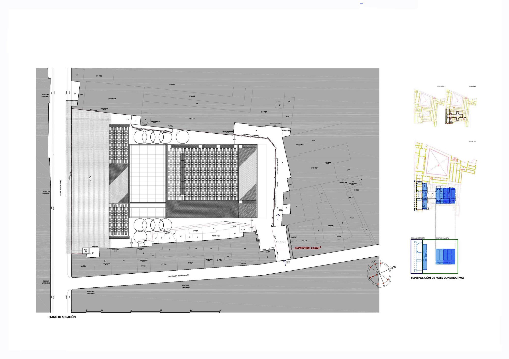 Gallery of the archive of the kingdom of mallorca for Arquitectura 5 de mayo plan de estudios