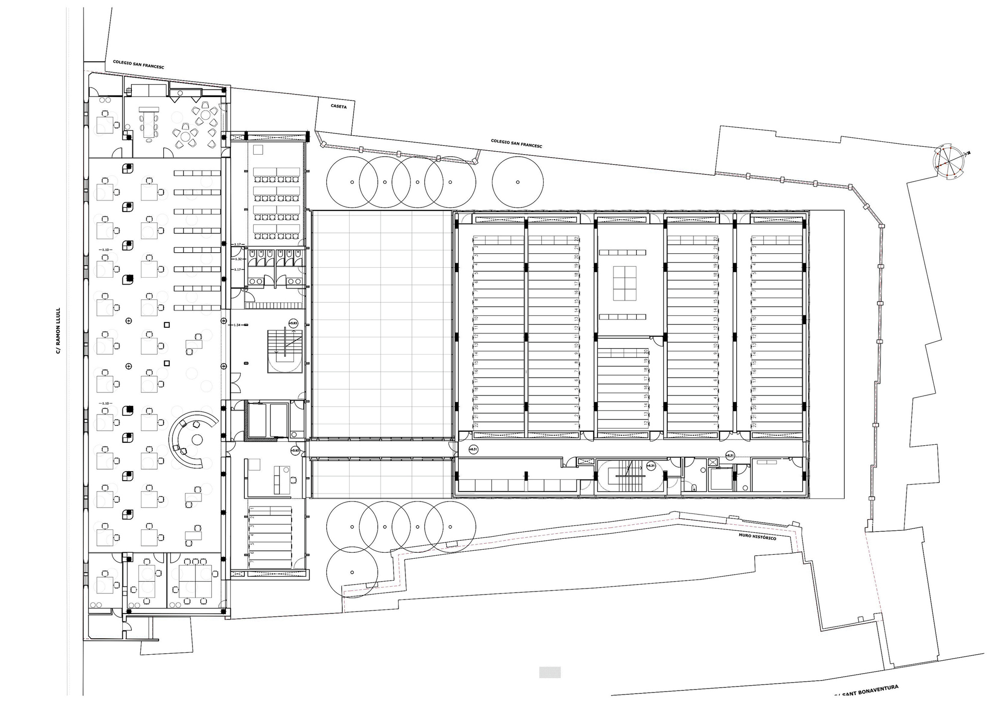 Galeria de os arquivos do reino de mallorca estudio de for Arquitectura 5 de mayo plan de estudios