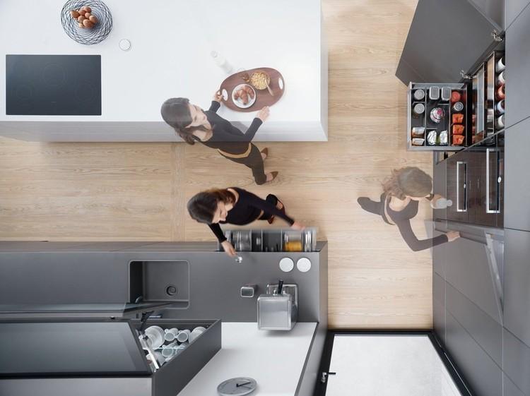 Planificación de espacios en cocinas: cómo lograr un 30% más de almacenaje y confort de movimiento, Cortesía de HBT