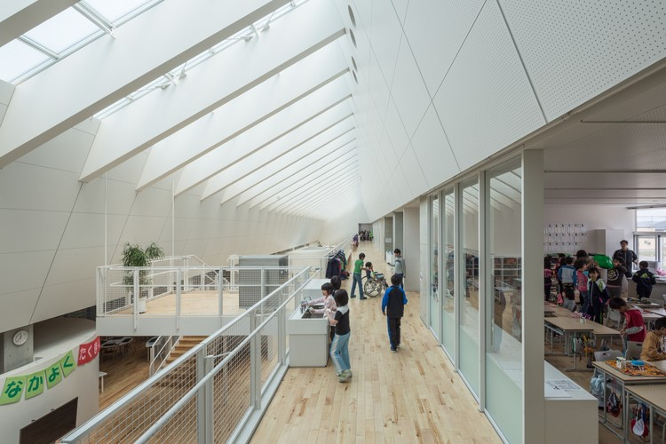 Escuela Primaria Numata / Atelier BNK, © Koji Sakai