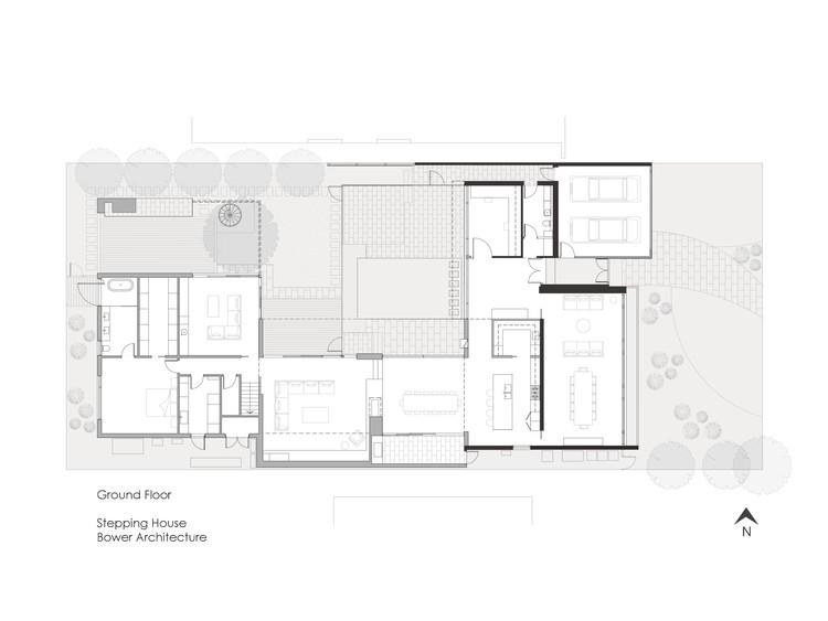 Casa Escalonada Bower Architecture Archdaily Brasil